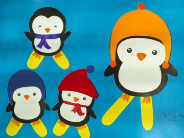 Мы - Пингвинята! Обзор детских поделок.