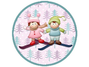Безопасность ребёнка и основы правильного поведения на горнолыжном склоне.